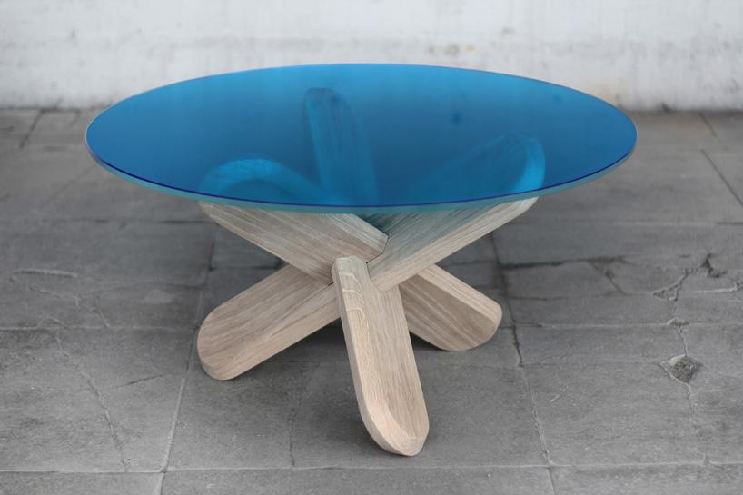 Как сделать круглый стол и ножку для него