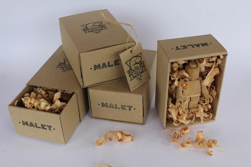 Упаковка для игрушек ручной работы